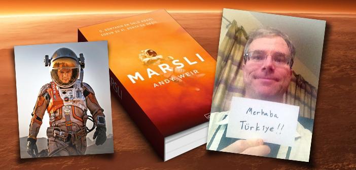 Andy Weir ile Marslı Romanı ve Filmini Konuştuk