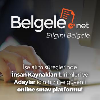 Belgele.Net - Bilgini Belgele - İşe alım süreçlerinde İnsan Kaynakları birimleri ve Adaylar için hızlı ve güvenli online sınav platformu!