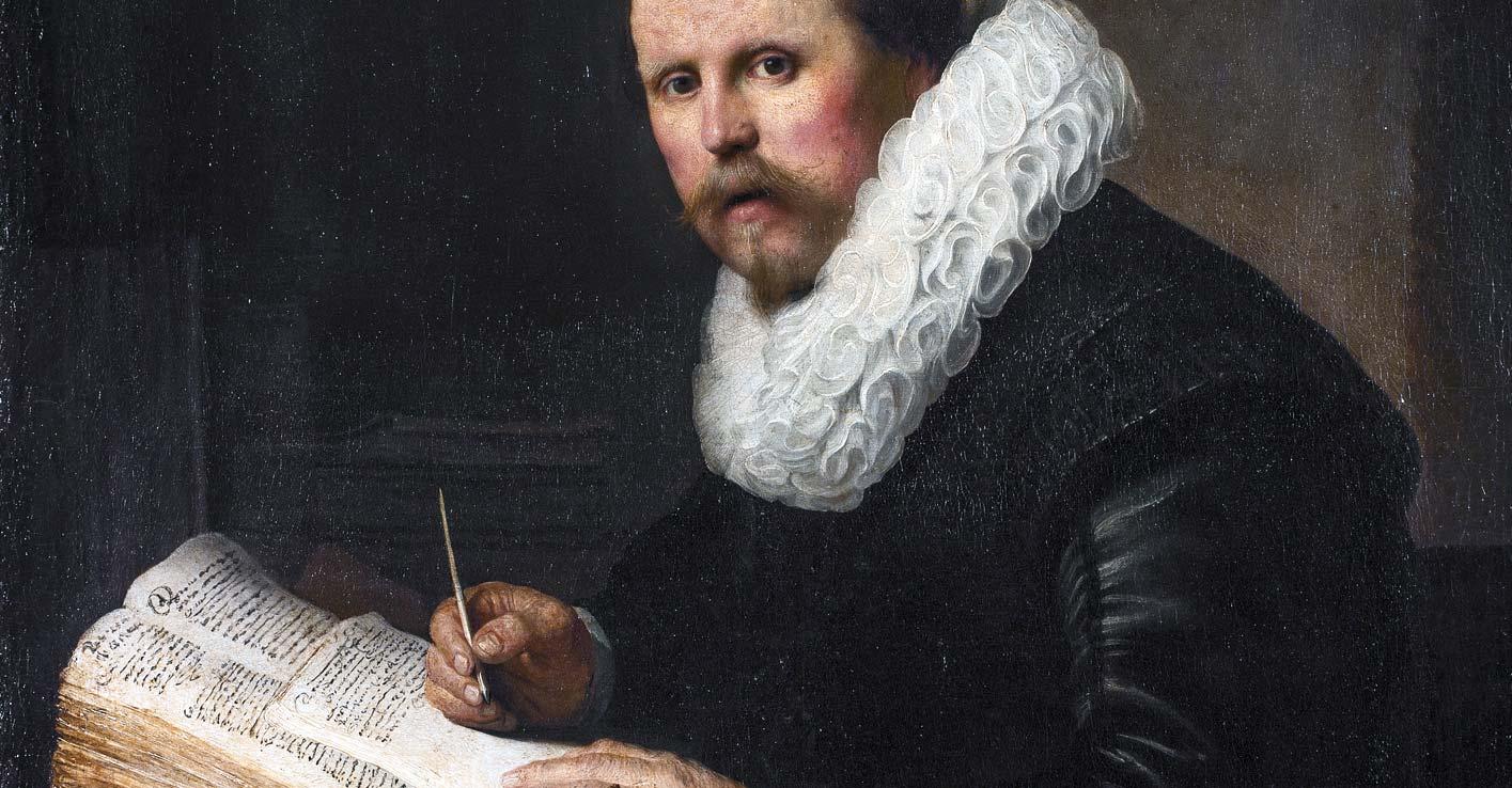 A Scholar; 1631 - Rembrandt van Rjin